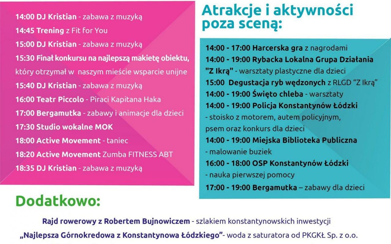 Zapraszamy na stoisko podczas Dnia z Funduszami Europejskimi w Konstantynowie Łódzkim